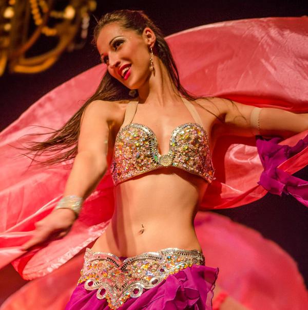 Show danza árabe Saffa bellydance